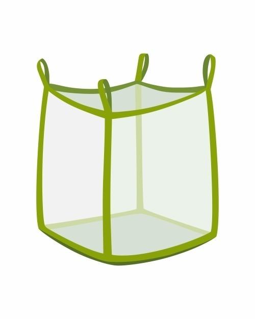 Big Bag oben offen