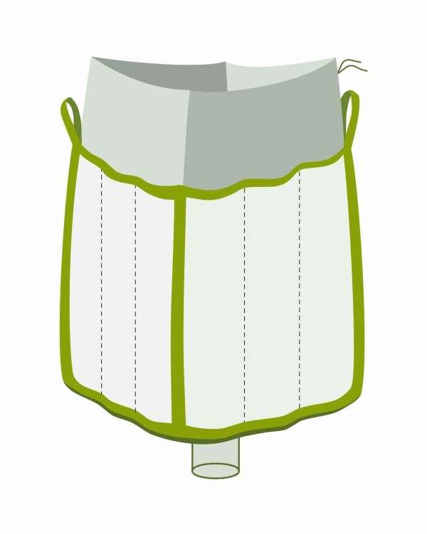 Big Bag mit Schürze