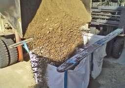 Sand Big Bag Transport