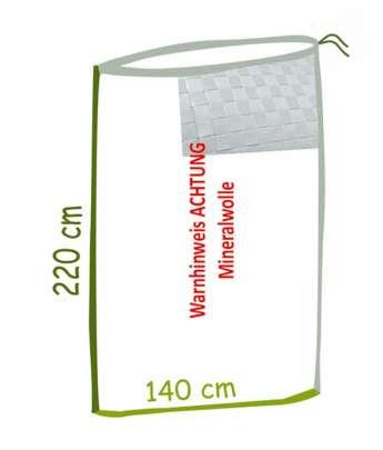 Mineralwolle Bindegewebe Sack