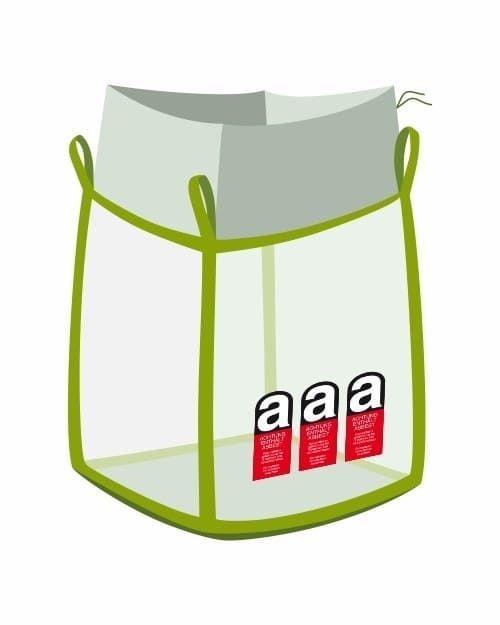 Asbest Big Bag transparent