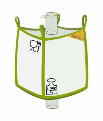 Big Bag, foodgrade, Aktionsprodukt