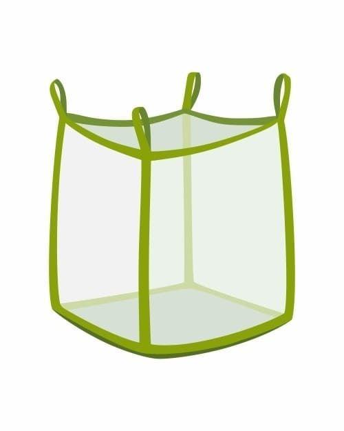 Big Bag, oben offen, transparent